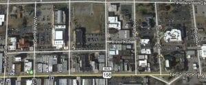 Google maps screenshot of N. Garret St.